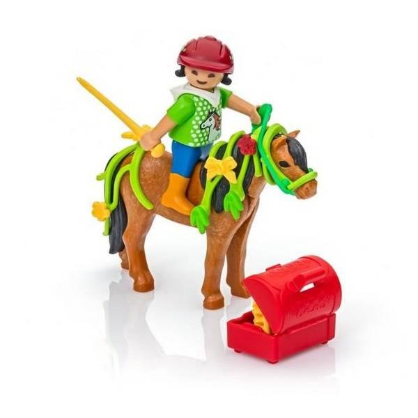 Playmobil Playmobil 6968 Poney à Décorer Fleur