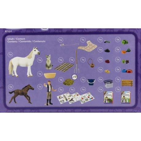 Schleich SCHLEICH 97151 - Horses advent calendar