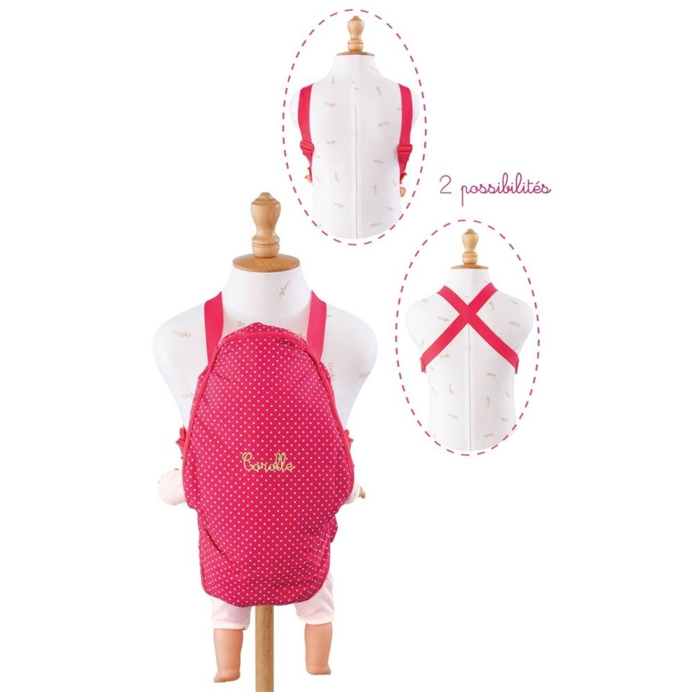 Corolle Corolle CMW90 Cherry Baby Sling 36 to 42cm