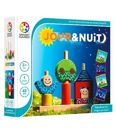 Smart Games SMARTGAMES 514367 - Day and Night FR