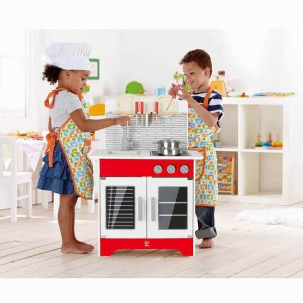 Hape Hape Wooden City Cafe Play Kitchen (E3144)