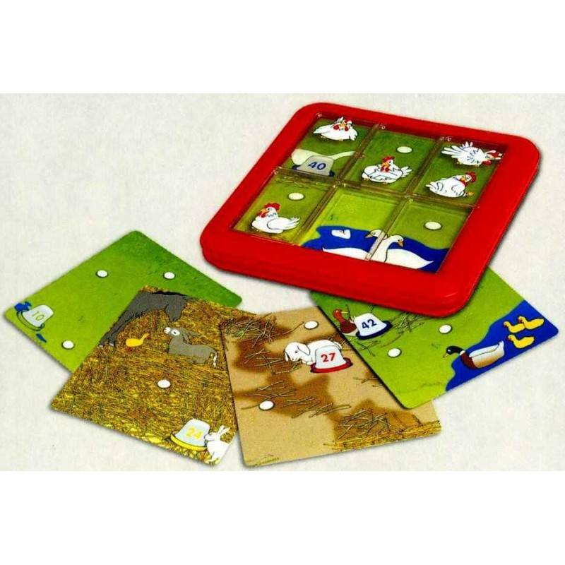 Smart Games SMARTGAMES 518860 - les poules ont la bougeotte