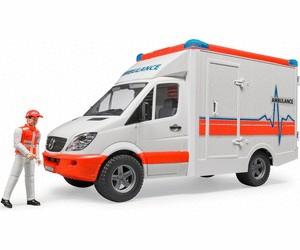 Bruder Bruder 02536 - MB Sprinter ambulance with driver