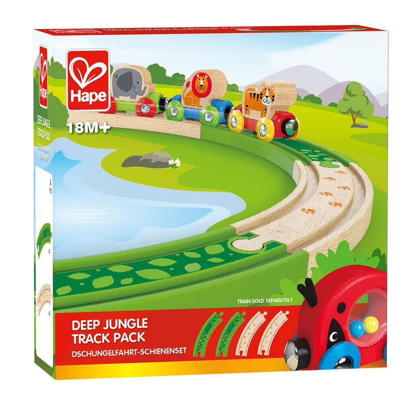 Hape HAPE  DEEP JUNGLE TRACK PACK
