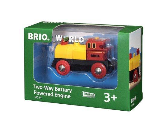 Brio BRIO 33594 - Locomotive à Pile Bi Directionnelle Jaune