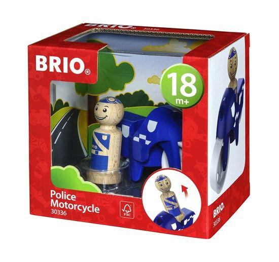 Brio BRIO 30336 - My Home Town - Police Motorcycle