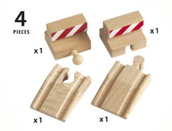 Brio BRIO 33385 - Rampes et butoirs 4pcs