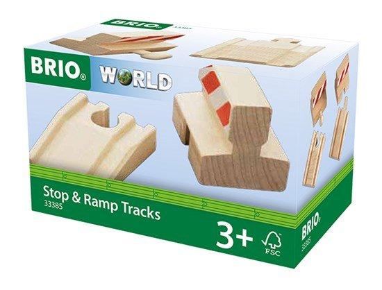 Brio BRIO 33385 - Ramp & Stop Track Pack