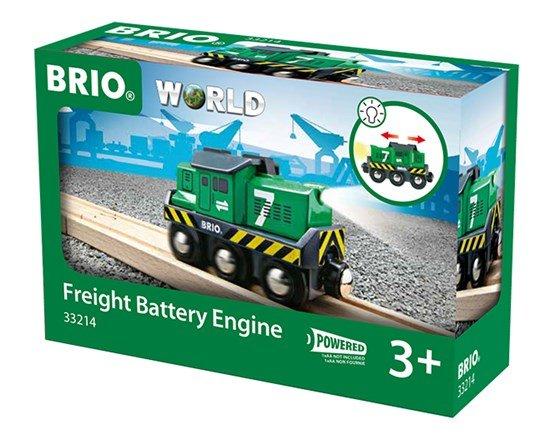 Brio BRIO 33214 - Freight Battery Engine