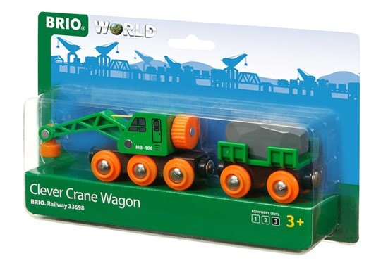 Brio BRIO 33698 - Clever Crane Wagon