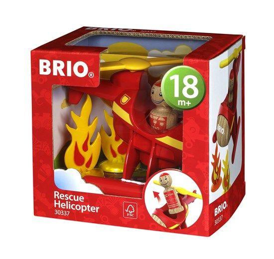 Brio BRIO 30337 - My Home Town - Rescue Helicopter