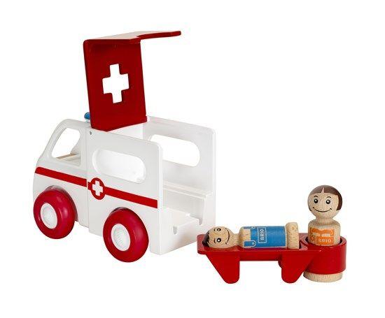 Brio BRIO 30381 - Ambulance son et lumière