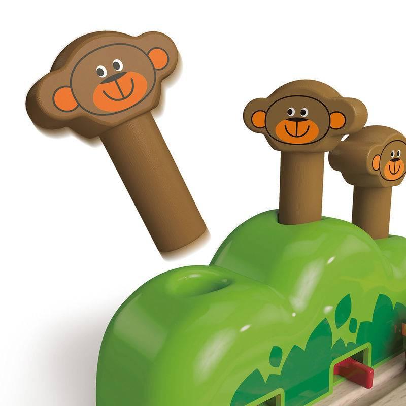 Hape Hape Rail aux trois singes