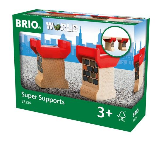 Brio BRIO 33254 - Supports de pont - 2pcs
