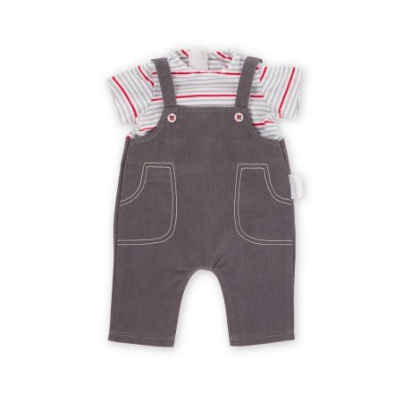 Corolle Corolle DMV81 Smock and Denim Overall 30cm