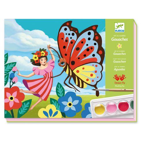 Djeco Djeco 08962 - gouaches minuscules