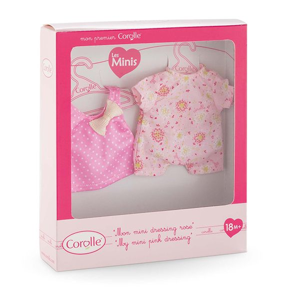 Corolle Corolle FBM690 My Mini Pink Dressing 20cm