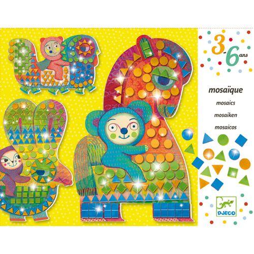 Djeco Djeco 08896 - Mosaiques - A Califourchon