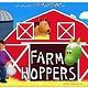 Farm Hoppers FARM HOPPERS  FHA1204 - Orange Horse