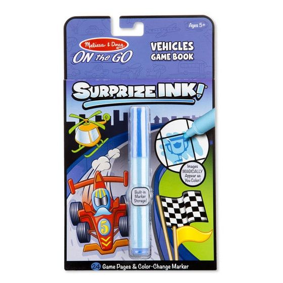 Melissa and Doug Melissa & Doug 5286 Surprize Ink Vehicles