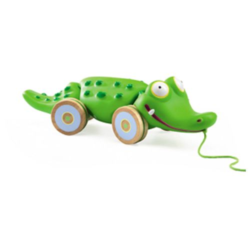 Djeco Djeco 06282 Pull along toy / Croc n'roll