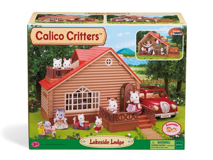 Calico Critters CALICO CRITTERS CF1523 - Lakeside Lodg
