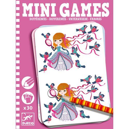 Djeco Djeco 05307 Mini games / Differences by Lea