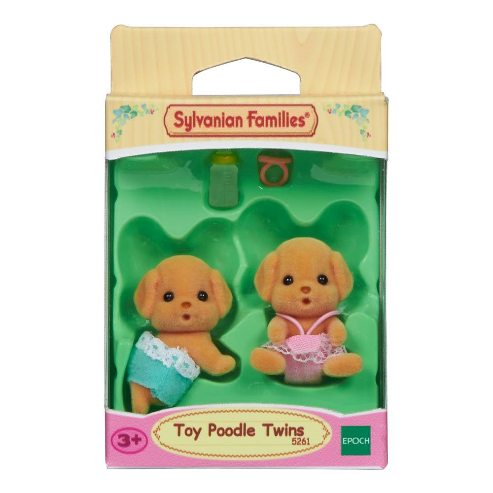 Calico Critters CALICO CRITTERS CF1737 - Toy Poodle Twins