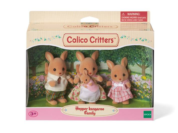 Calico Critters CALICO CRITTERS CF1524 - Hopper Kangaroo Family