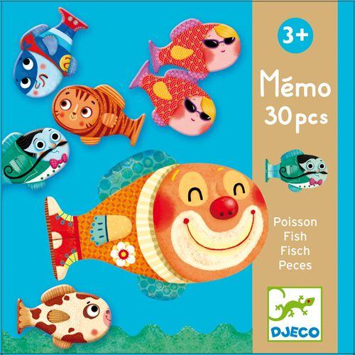 Djeco Djeco 08169 Memo Fish