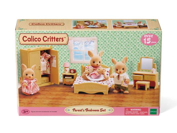 Calico Critters CALICO CRITTERS CC2923 - Parents Bedroom Set