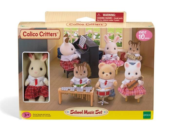 Calico Critters CALICO CRITTERS CC1485 - Ecole de musique