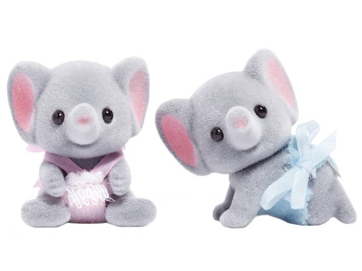 Calico Critters CALICO CRITTERS CF1571 - Ellwoods Elephant Twins