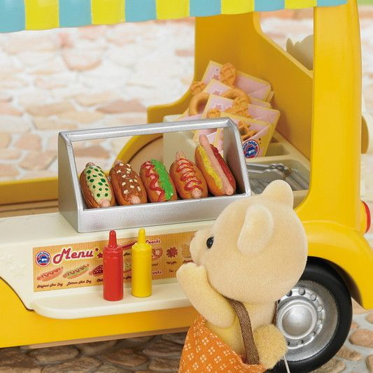 Calico Critters CALICO CRITTERS CF1553 - Hot Dog Van
