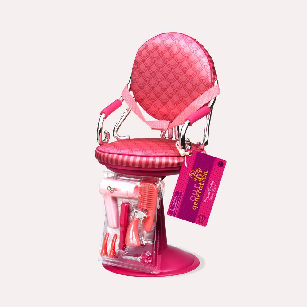 Our Generation OUR GENERATION 743BD37248 - Sitting Pretty Salon Chair