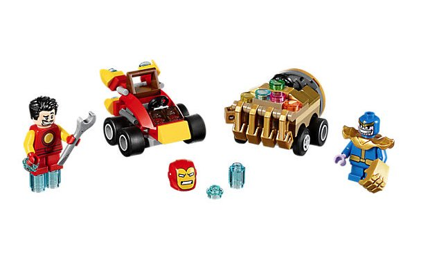 Lego 76072 S.HEROS-Mighty Micros:Iron man contre Thanos