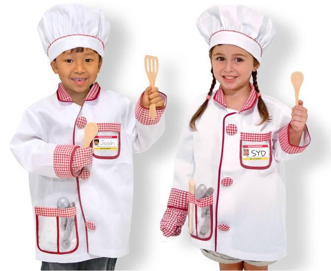Melissa and Doug Melissa & Doug 14838 Costume de Chef Cuisinier