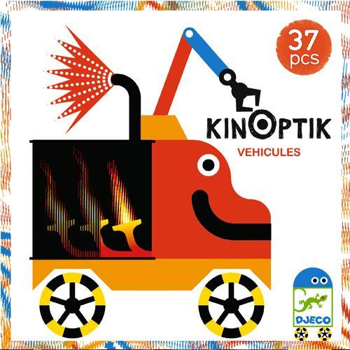 Djeco DJeco 05601 - Kinoptik véhicules 38 pcs