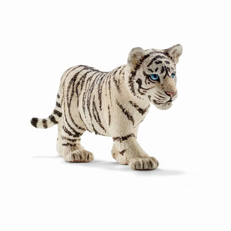 Schleich SCHLEICH 14732 - Tiger cub, white