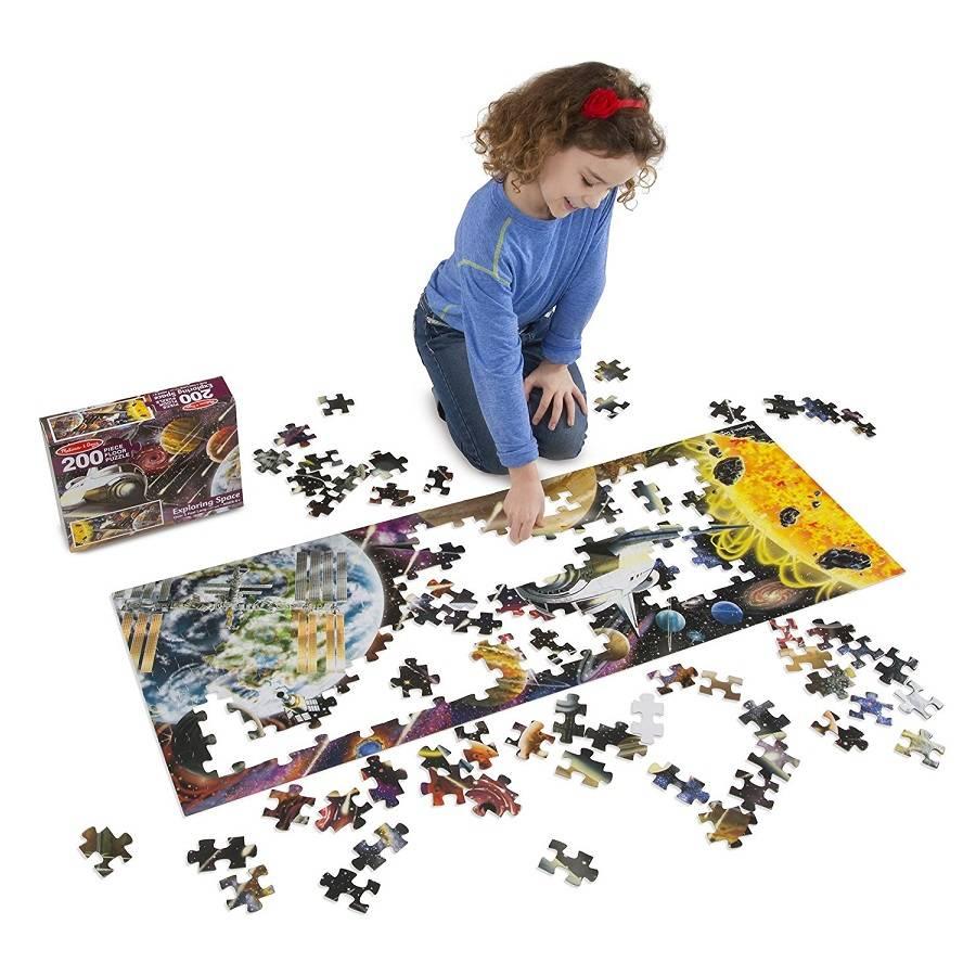 Melissa and Doug Melissa & Doug 18909 Exploring Space Jumbo Floor Puzzle