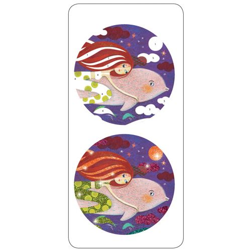 Djeco Glitter boards / Mermaids