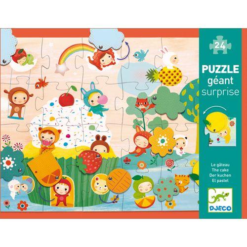 Djeco Puzzle Surprise / The cake / 24 pcs