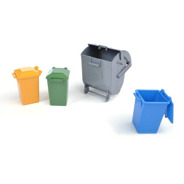 Bruder Bruder 02706 Set of Garbage Cans