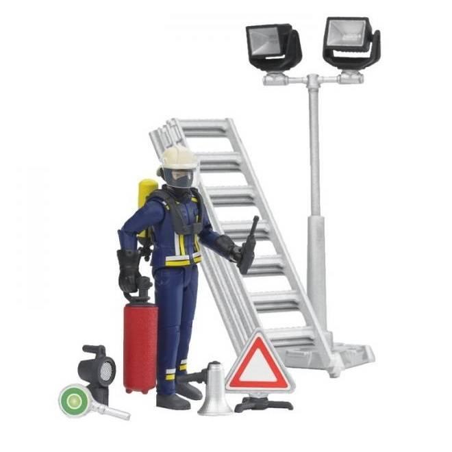 Bruder Bruder 62700 Pompier avec Accessoires