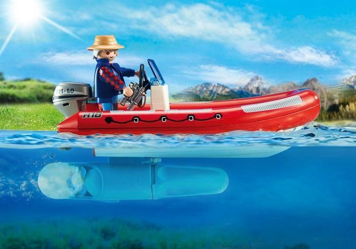 Playmobil Playmobil 5559 Explorateurs et bateau