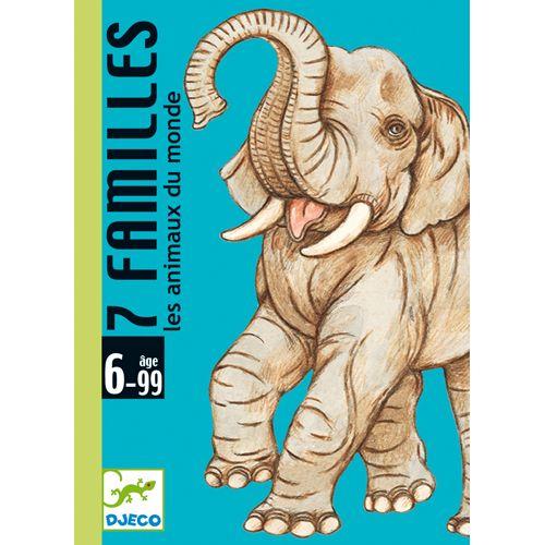 Djeco 7 familles / Les animaux du monde (fr)