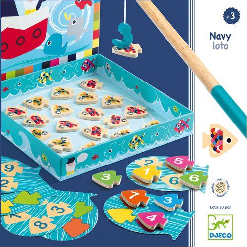 Djeco Djeco DJ01688 Navy-loto  - Jeu de peche