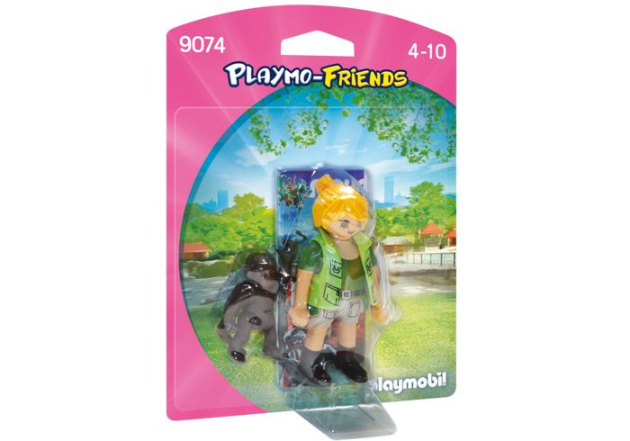 Playmobil Zookeeper with Baby Gorilla