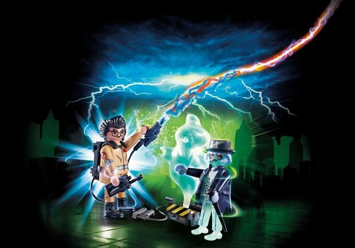 Playmobil Spengler and Ghost Playmobil 9224