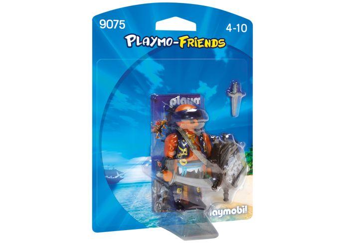 Playmobil Playmobil 9075 Pirate with Shield